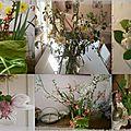 Mosaïque de bouquets ~Mars 2012~
