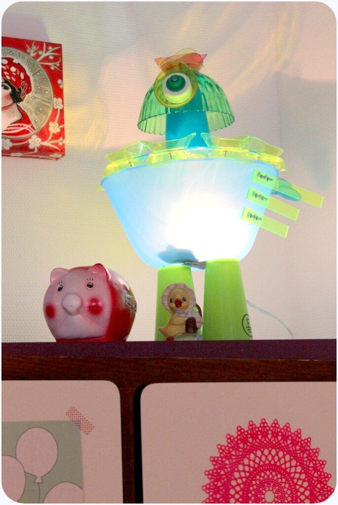 les lampes de compagnie de Franck