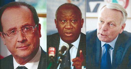 Hollande - Gbagbo - Ayrault 0002