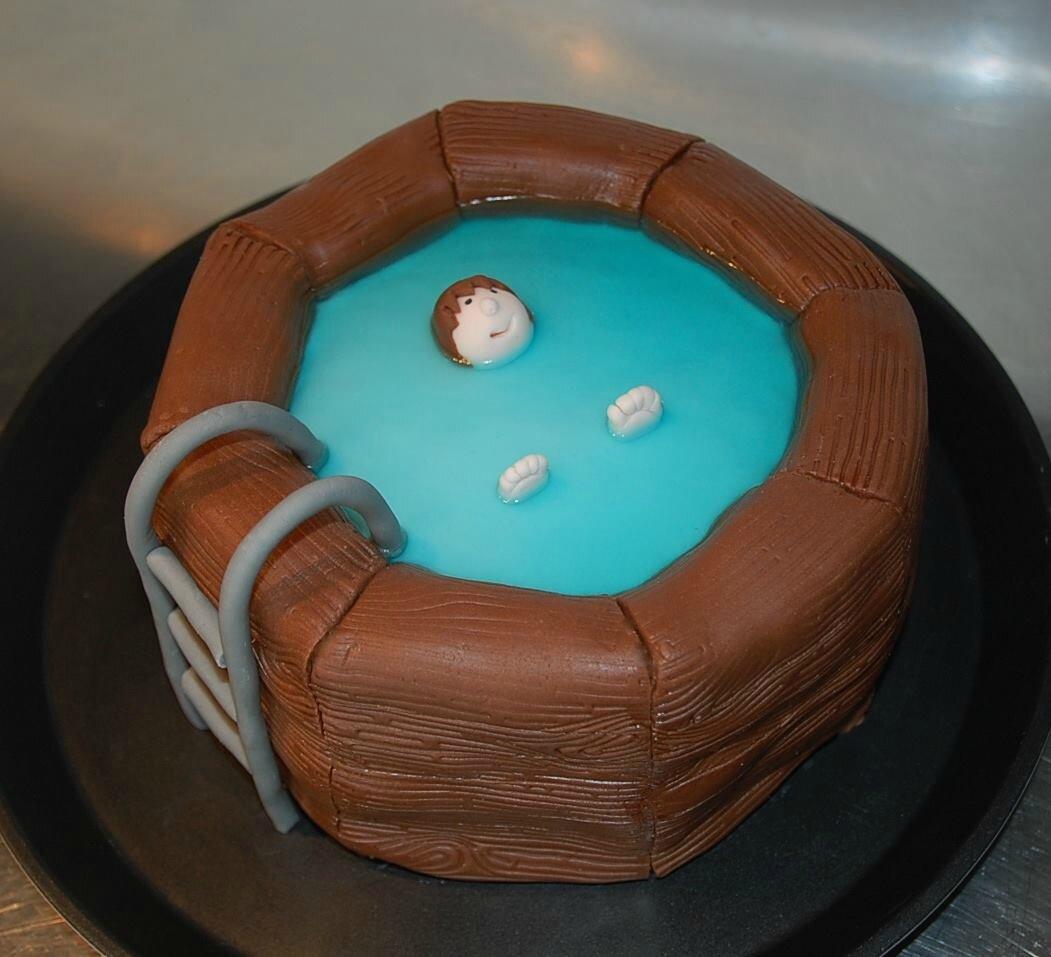 Le gâteau piscine détente de tata Dara