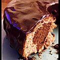 Un petit goûter ? - gâteau marbré chocolat-cannelle.