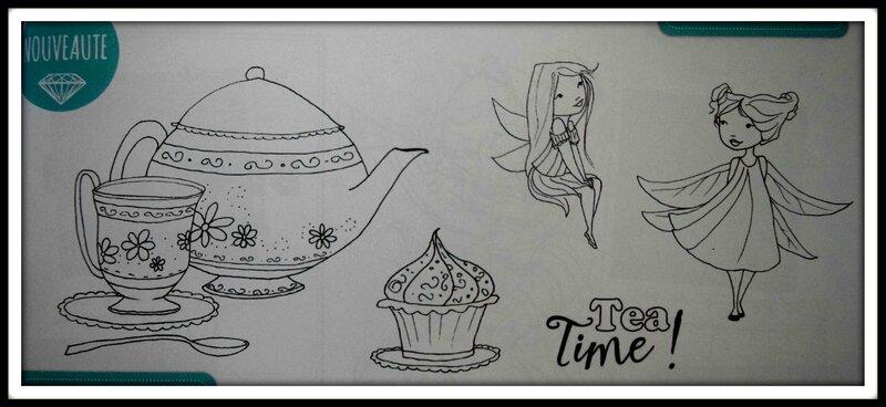 photo tampon Tea Time