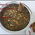 Terrine ou tartinade de lentilles aux champignons