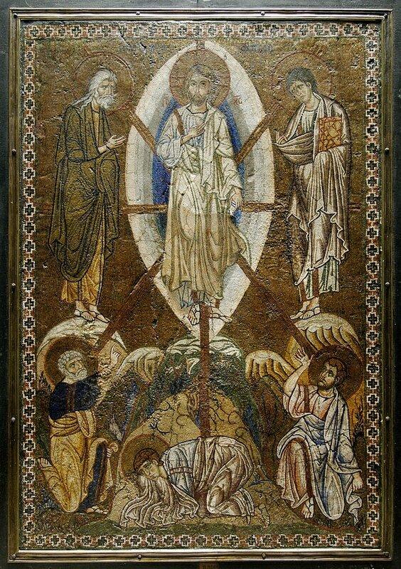 Transfiguration du Christ, icône, Louvre ML145