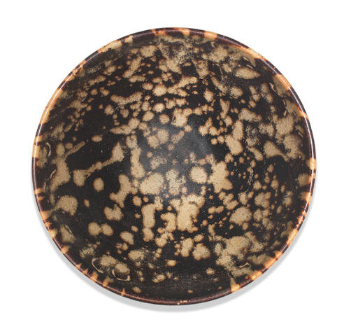 A Jizhou 'tortoiseshell'- glazed bowl, Southern Song Dynasty (1127-1279)