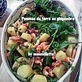 Pommes de terre au gingembre