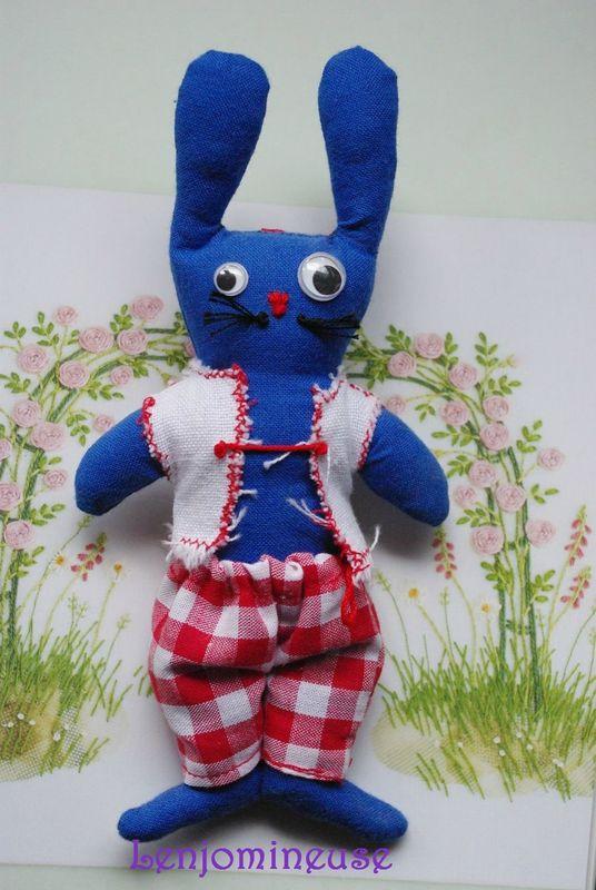 lapin bleu blog
