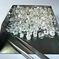 Grande quantité de diamant brut naturel en vente - s/.65000