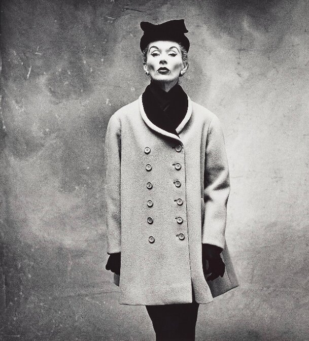 Irving Penn, Balenciaga 'Little Great' Coat (Lisa Fonssagrives-Penn), Paris, 1950