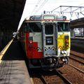 キハ47-7003-7004 'みすゞ潮彩 Misuzu', Shimonoseki eki