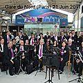 Fête de la musique gares de paris