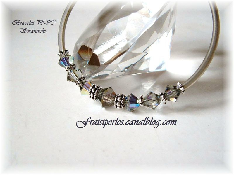 bracelet PVC Swarovski A