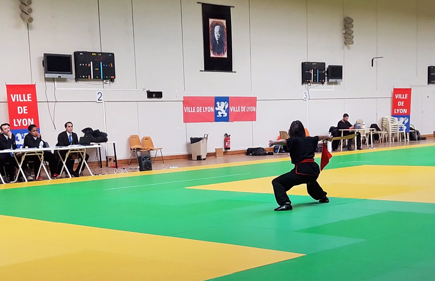 ASSIA Kung Fu Sabre - Médaille d'Or