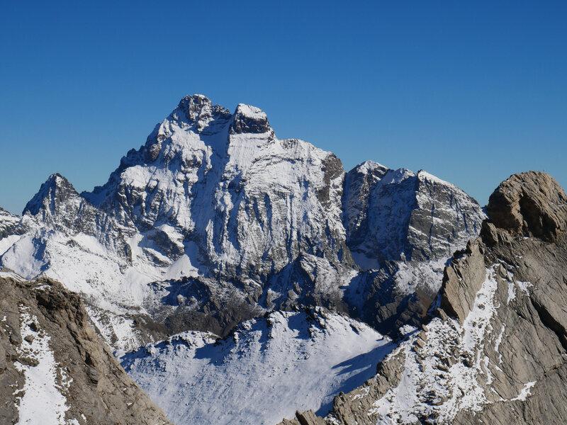 """LE """" géant """" du coin: Mont Viso, 3841m."""