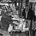 Sur le marché de marcigny