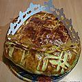 Galette des rois pomme/poire et caramel au beurre salé