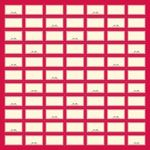 die cut and perforated label sheet