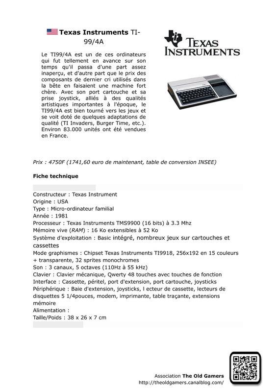 Texas Instruments TI-99 4A-1
