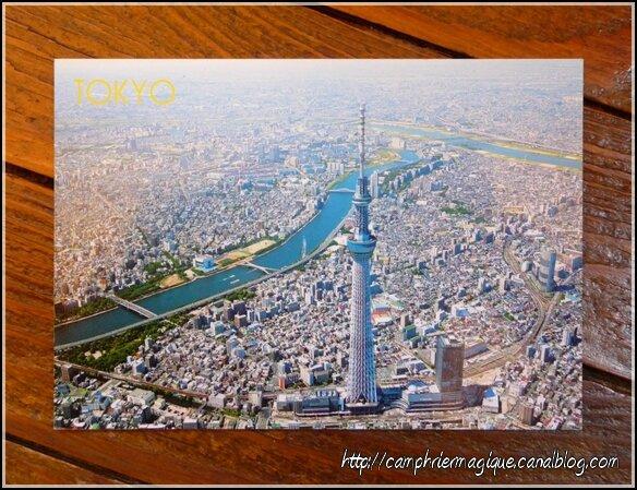 carte postale Tokyo