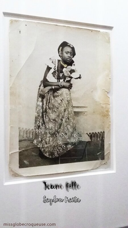 jeune fille-photo originale seydou keita