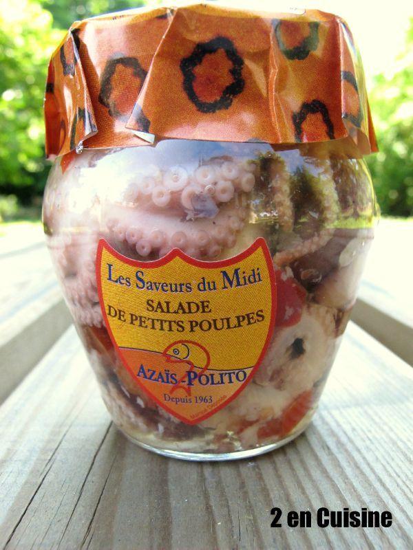 Riz aux petites pieuvres et légumes d'été 3