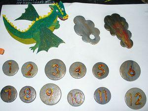 8 les chiffres le dragon et la fumee