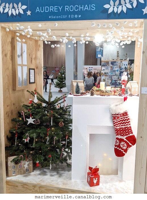 Audray rochais 1 - vitrine conte de Noël - csf 2019 - blog marimerveille