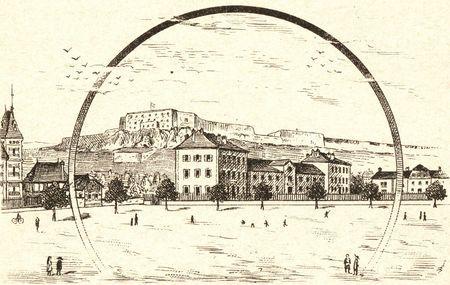 Place des écoles 1892 R