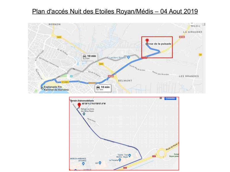 Plan d'accés 04 aout 2019