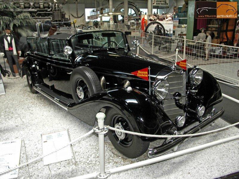 770 Grosser Cabrio F Gepanzerte Sonderausfuehrung '1938 (2)