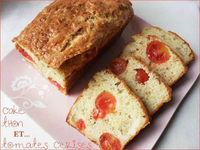 cake thon tomates cerises 1