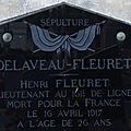 Fleuret henri (ardentes) + 16/04/1917 sapigneul (51)