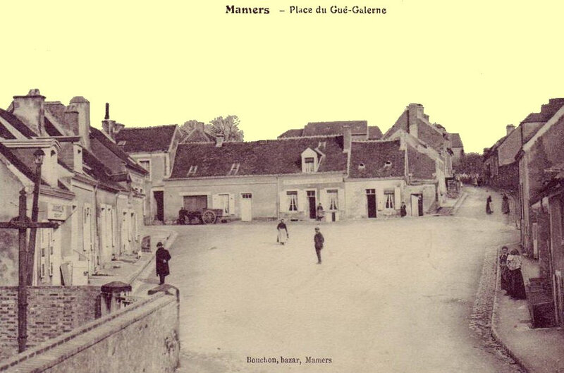 Mamers place gué Galerne
