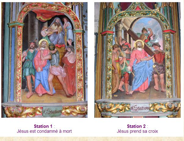 Etudes de peinture cryptograme Gasc n°24 les stations de Gasc 1&2