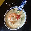 Soupe thaïe tom yam kung