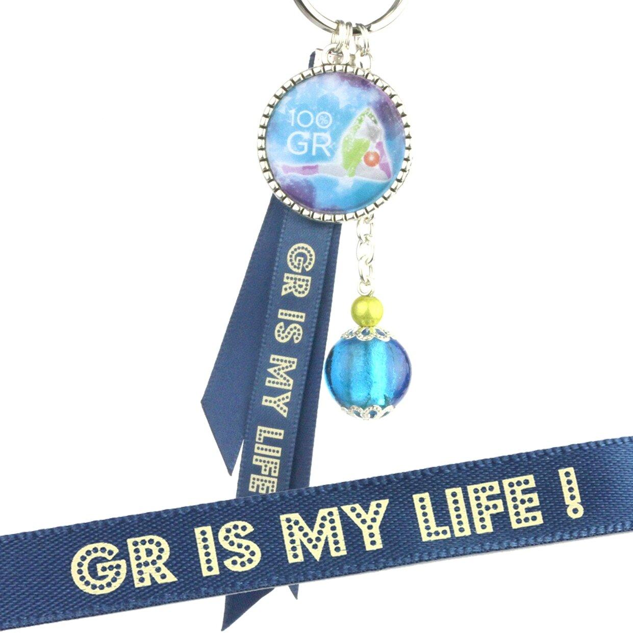 porte cles GR bleu bleu 3