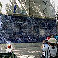 Paris, Abbesses, mur des je t'aime
