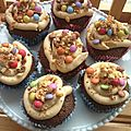 photo cupcake choco topping speculos