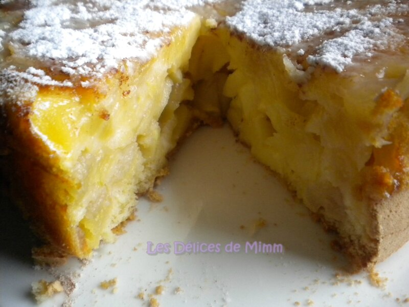 Sharlotka ou le cake aux pommes russe 3