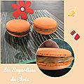 Macarons chocolat et banane/caramel