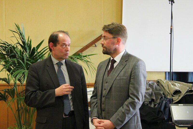 élections municipales Avranches 2014 David Nicolas Guénhaël Huet