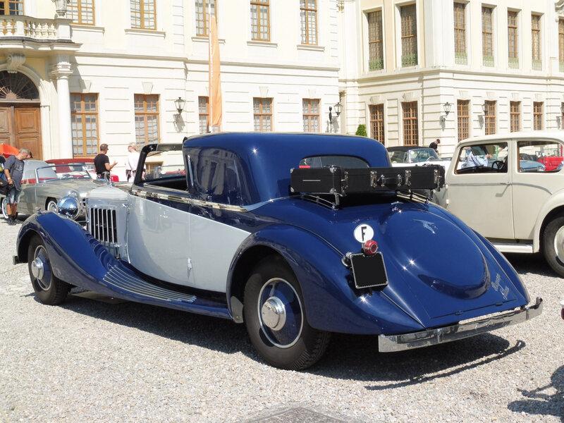 HISPANO SUIZA K6 coupé transformable Fernandez & Darrin 1937 Ludwigsburg (2)