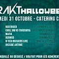 Samedi 31/10 : frakt' halloween (electro party)