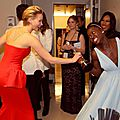 Jennifer Lawrence funny moment at the Oscars 2014