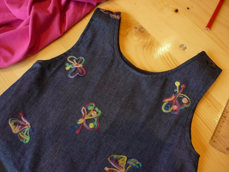 Robe trapèze2