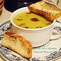 Velouté de fèves fraîches et légumes ( soppa - sobba foul akhder )