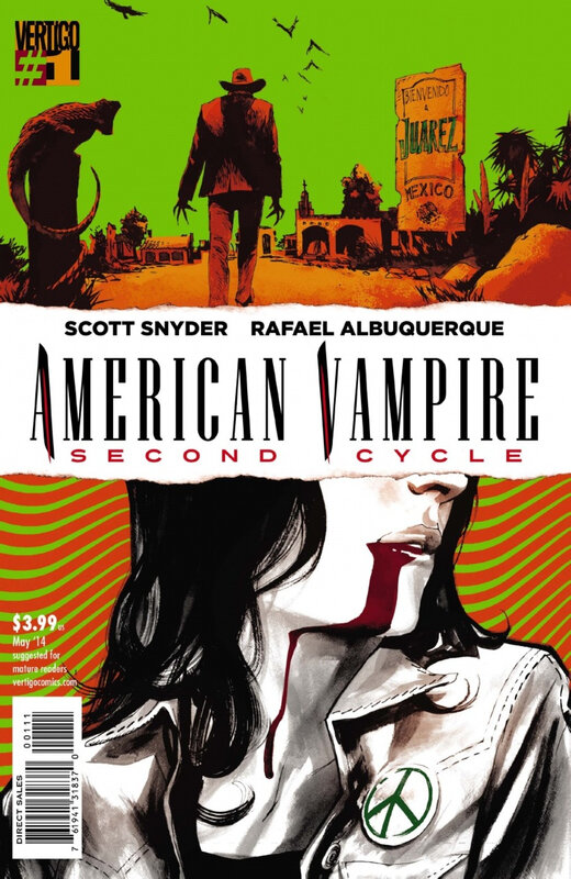vertigo american vampire second cycle 01