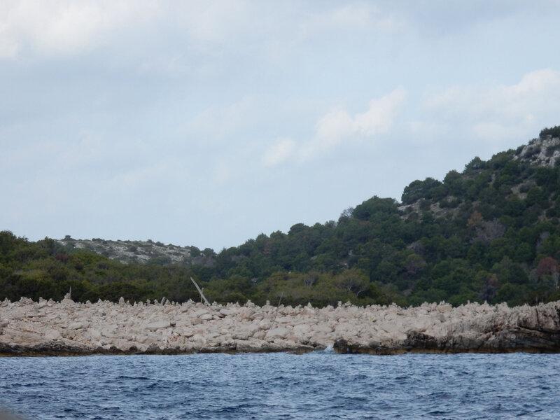 Dugi Otok, baie aux cairns, jeudi 29 octobre 2020