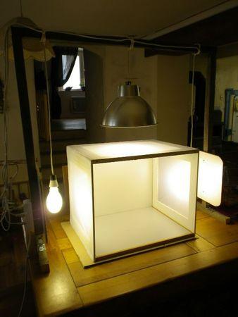 Studio photo Macro - Light Box complète