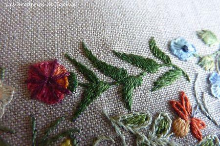 Broderie Mille et une fleurs Canevas Folies (7)